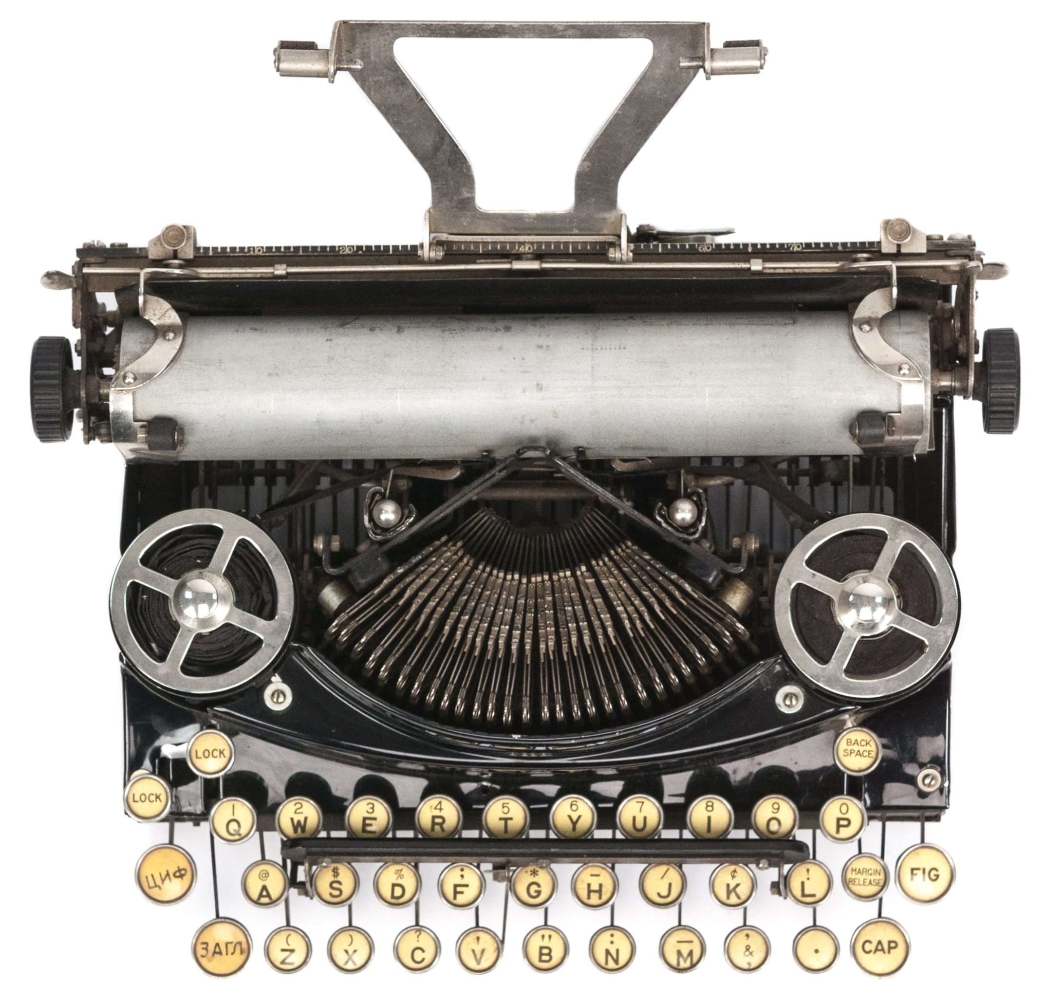 the noiseless typewriters