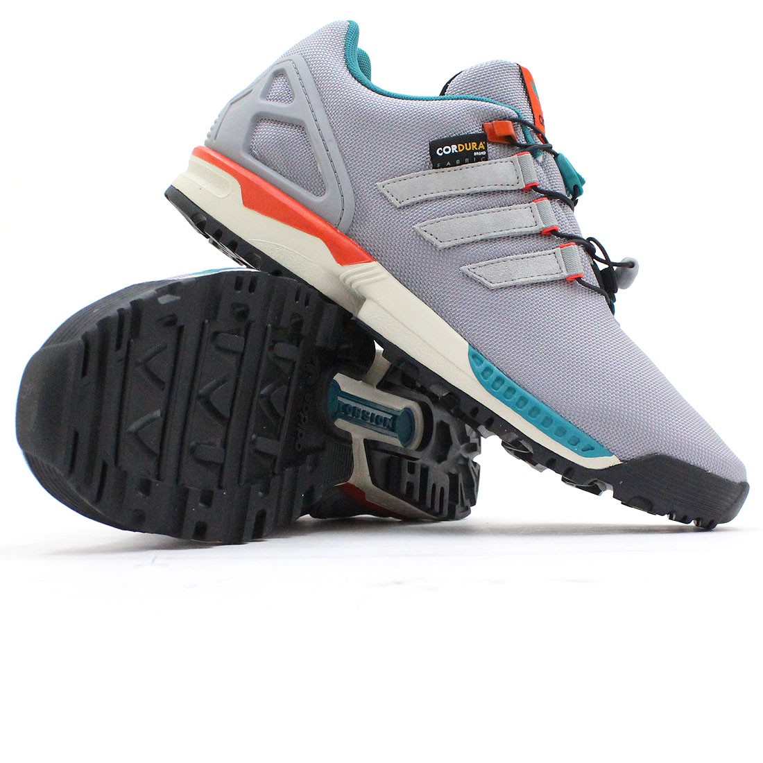 adidas ZX Flux ADV Asymmetrical Shoes Grey adidas Asia/Middle