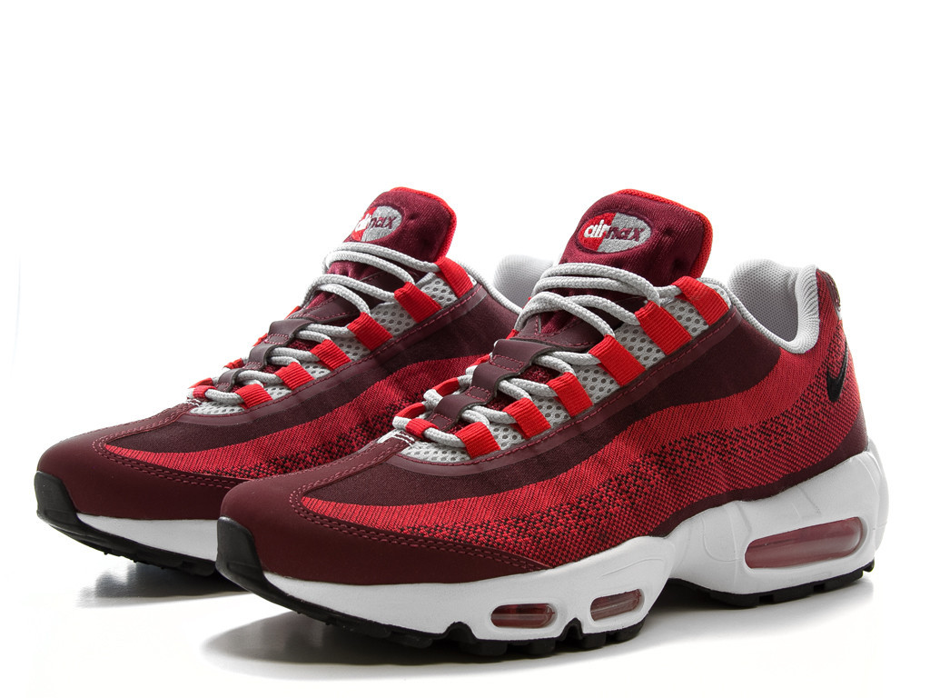 nike air max 95 jacquard university red